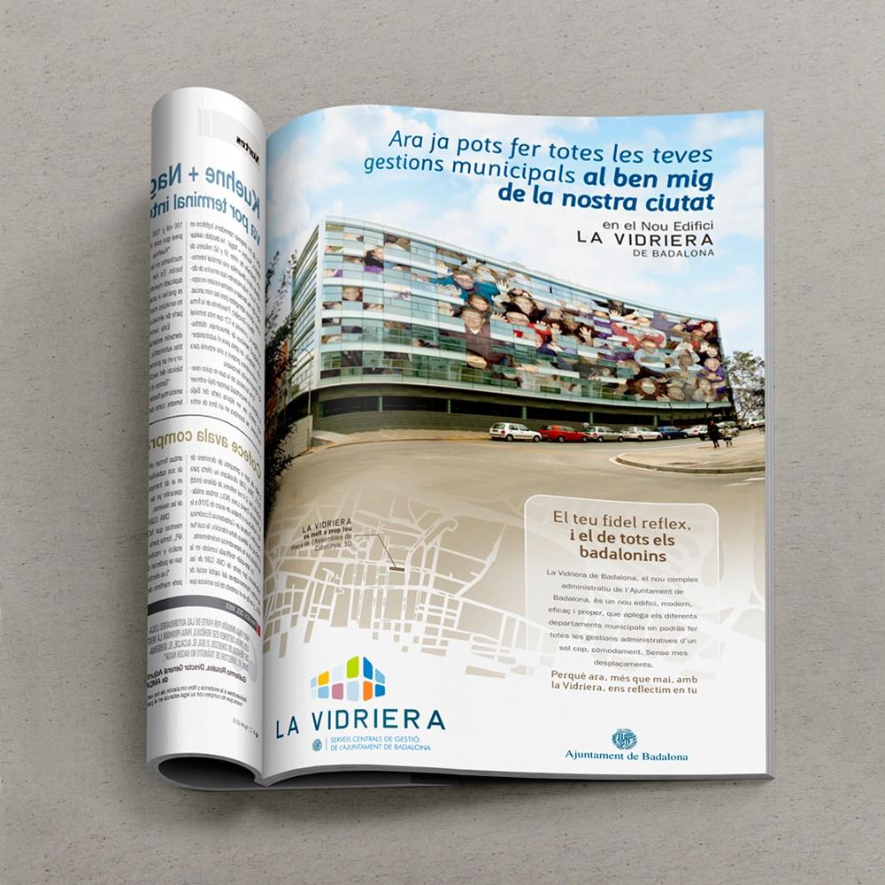 Campaña «La Vidriera» – Ajuntament de Badalona