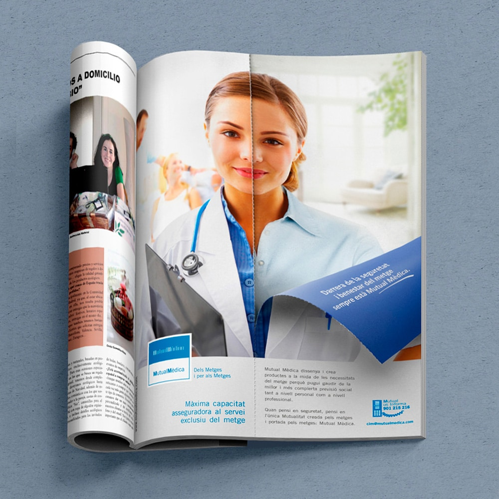 Anuncio Prensa Especializada – Mutual Médica