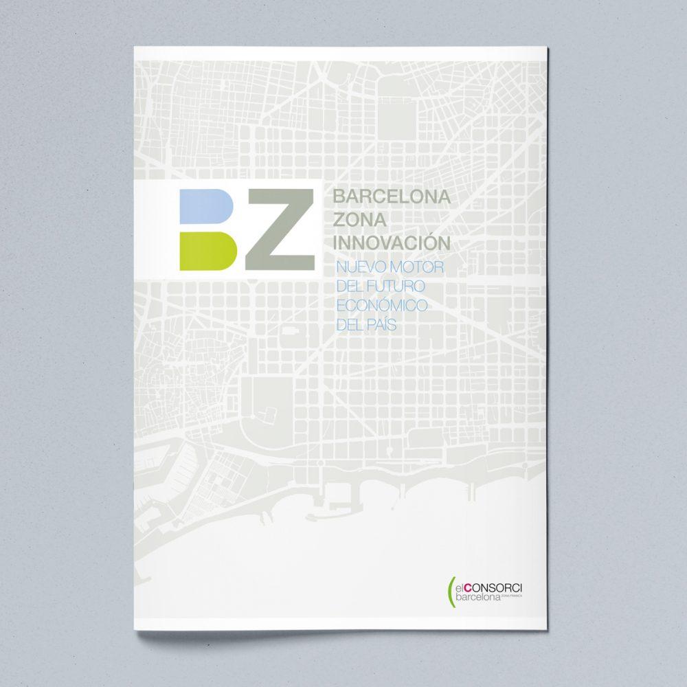 Folleto Barcelona Innovación – Consorci de la Zona Franca