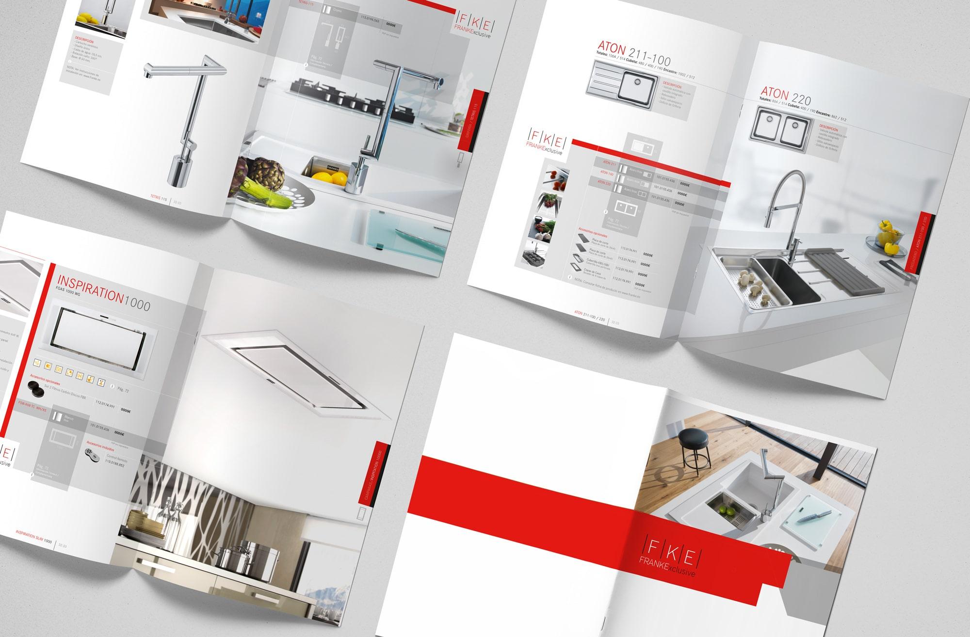 Cat logo franke exclusive sistemas de cocina franke for Franke cocinas catalogo