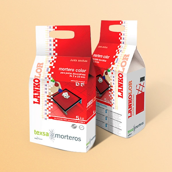 Packaging Lankolor – Texsa morteros
