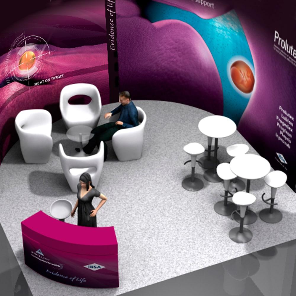 Stand IVI Alicante 2015 – Angelini Farmacéutica
