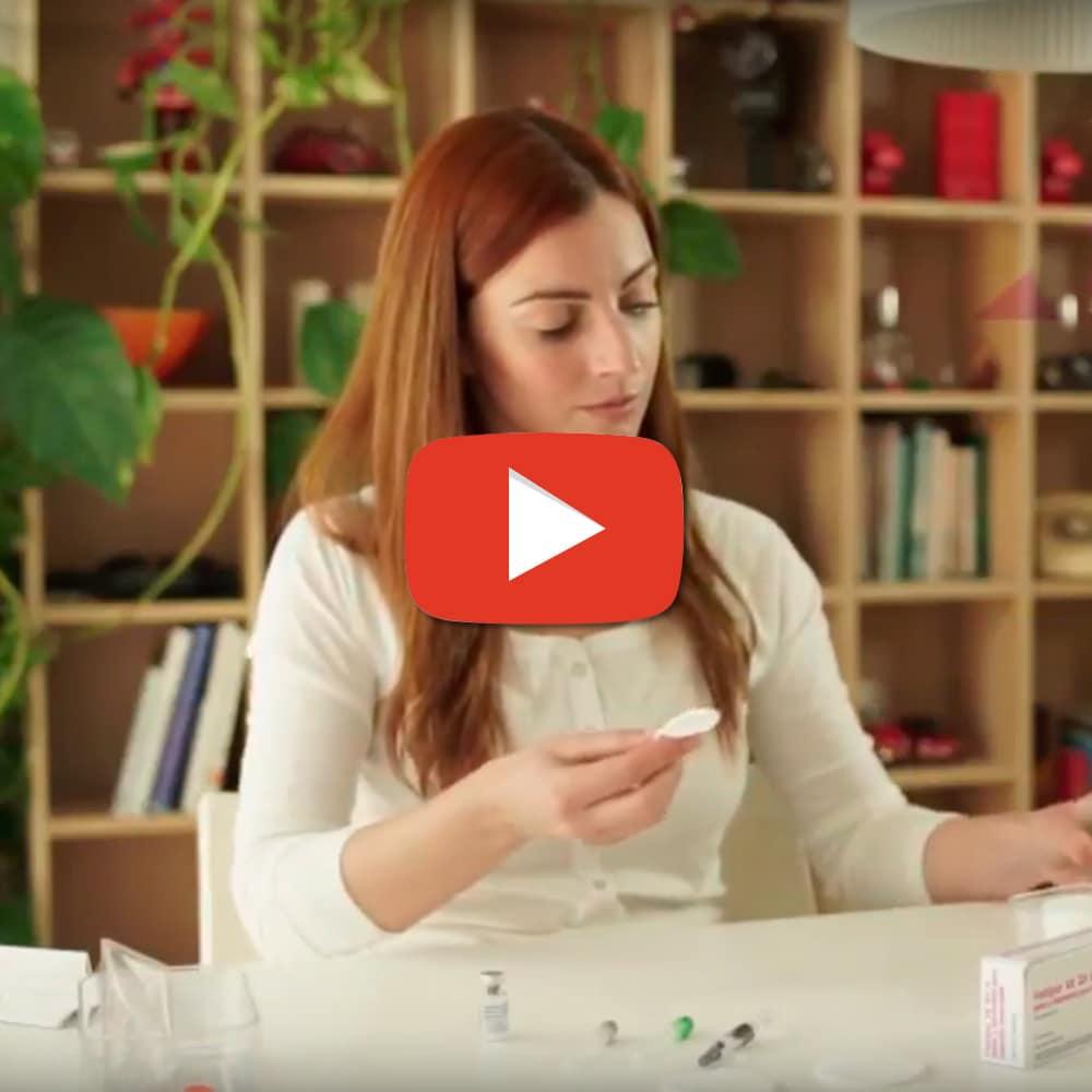 Vídeo Administración Fostipur Kit – Angelini Farmacéutica