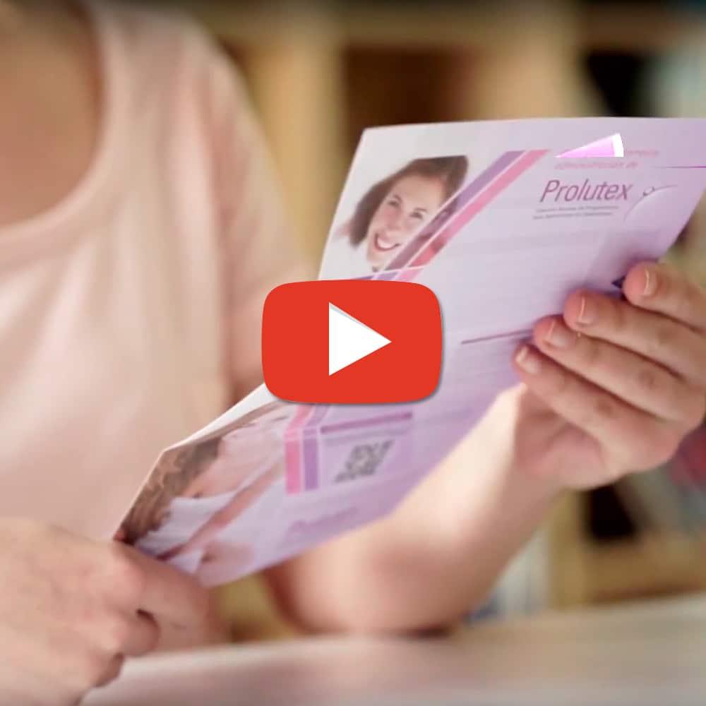 Vídeo Administración Prolutex – Angelini Farmacéutica