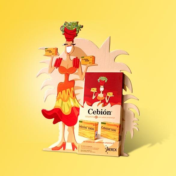 Display Cebión – Merck