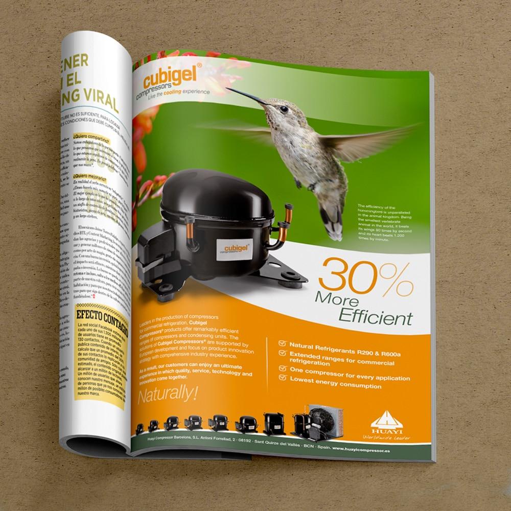 Anuncio Revistas Especializadas – Cubigel · Huayi