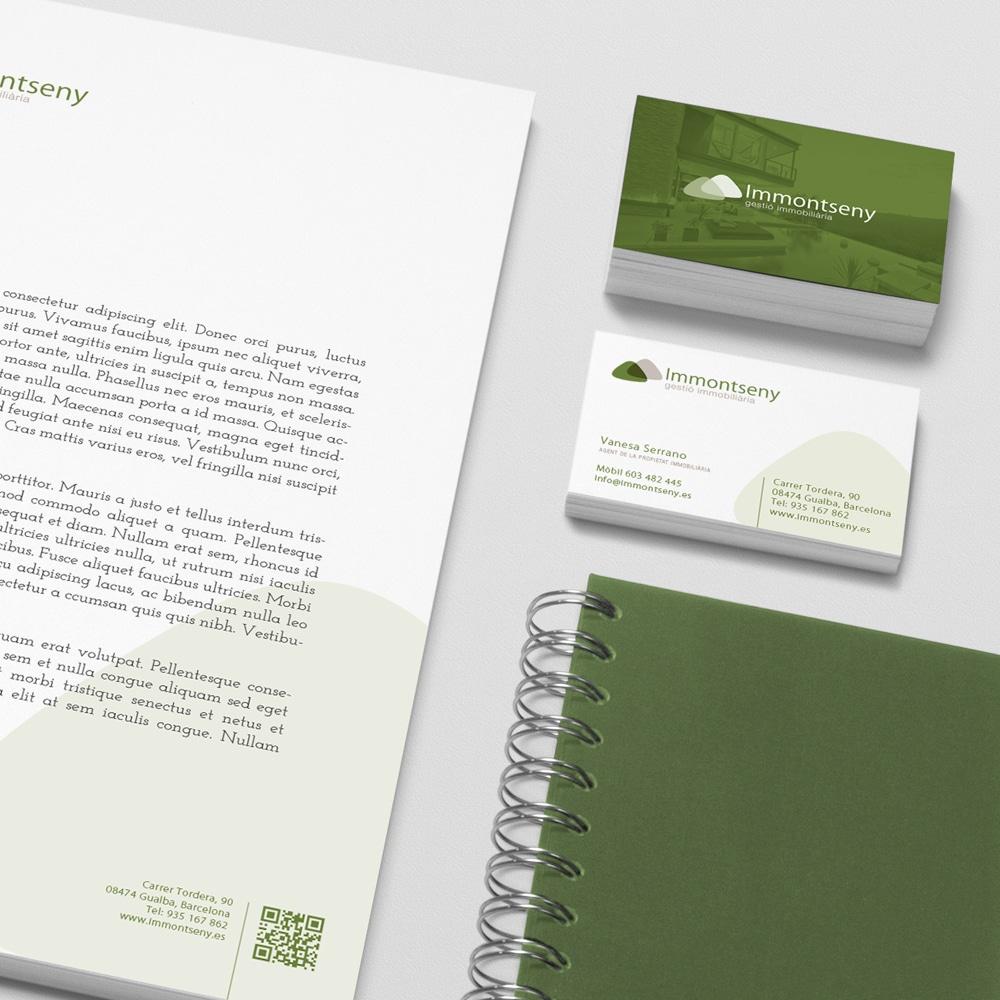 Marca + Identidad Corporativa – Immontseny