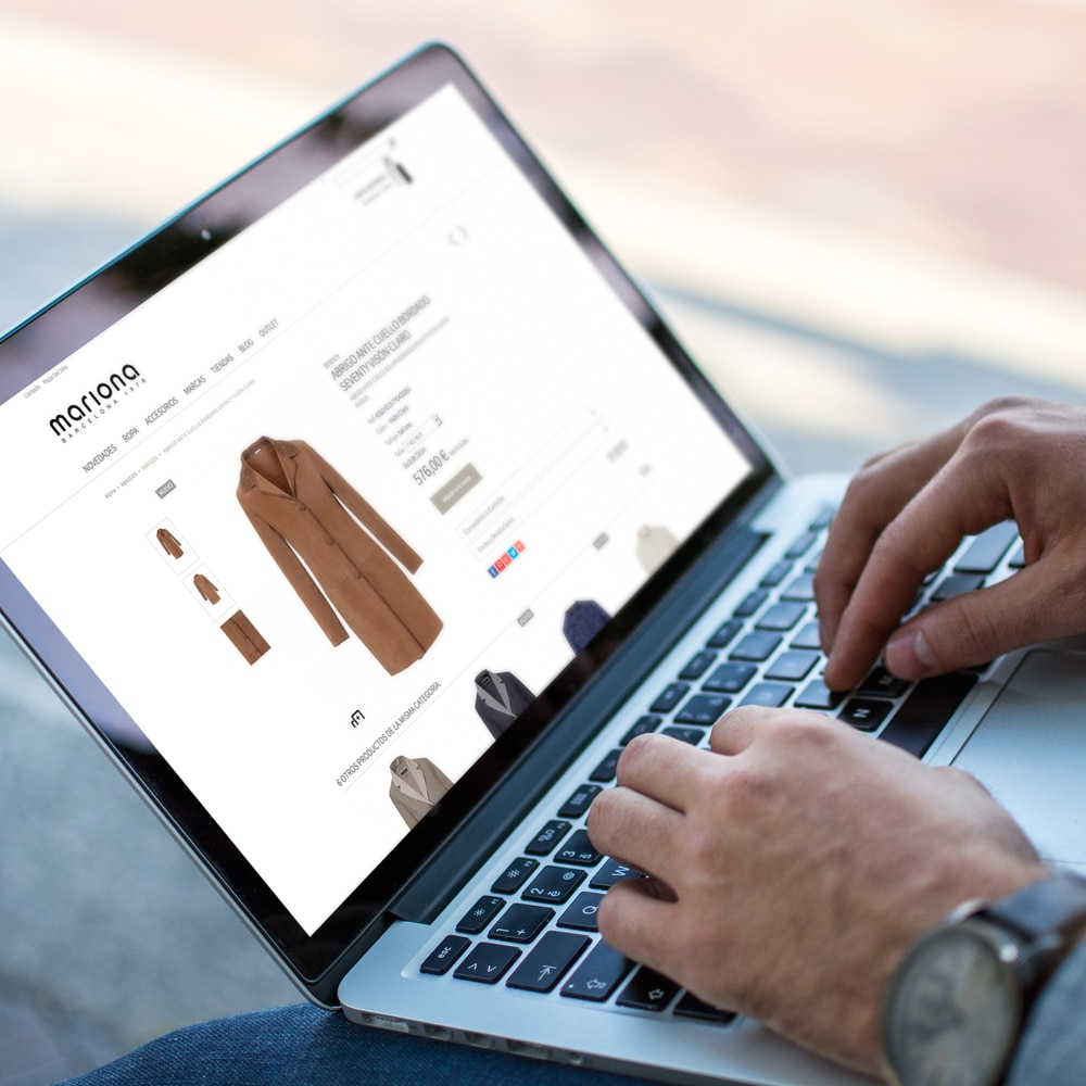 Página Web e-Commerce – Mariona