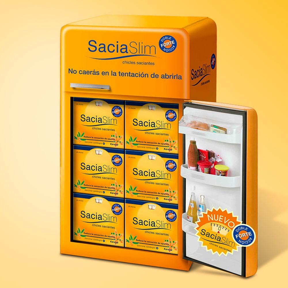 Display Farmacias Sacia Slim – Omega Pharma