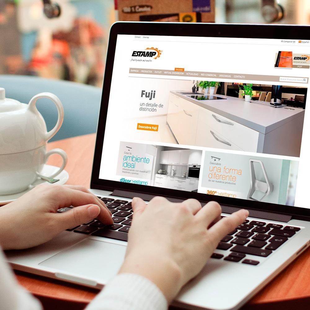 Página Web – Estamp