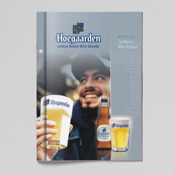 Folleto Hoegaarden Beer – Interbrew