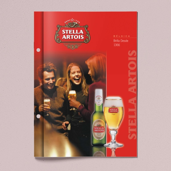 Folleto Stella Artois Beer – Interbrew