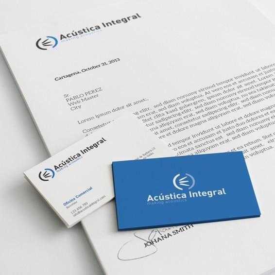 Identidad Corporativa – Acústica Integral