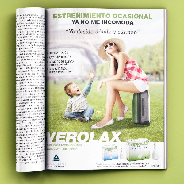 Anuncio Verolax – Angelini Farmacéutica