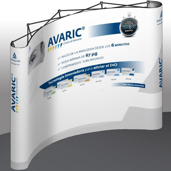 Stand expofix Avaric – Angelini Farmacéutica