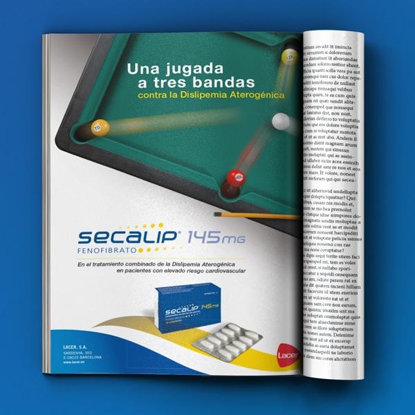 Anuncio Billar Secalip – Lacer