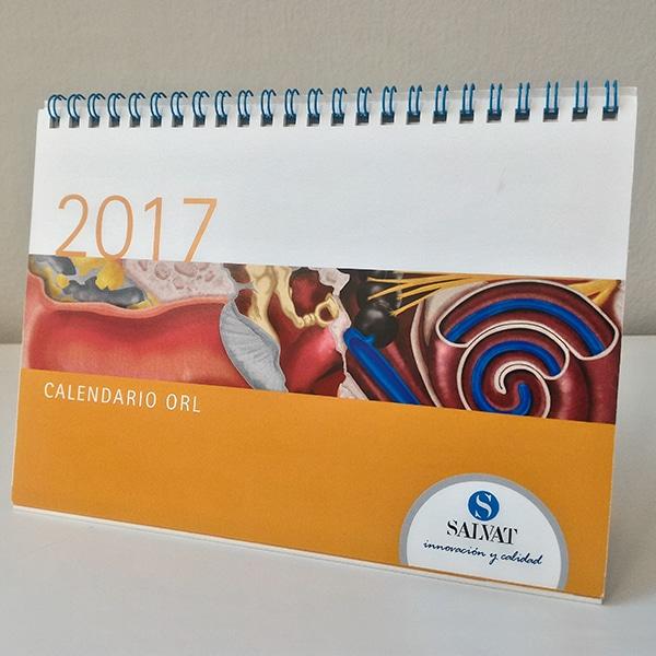 Calendario sobremesa 2017 – Salvat