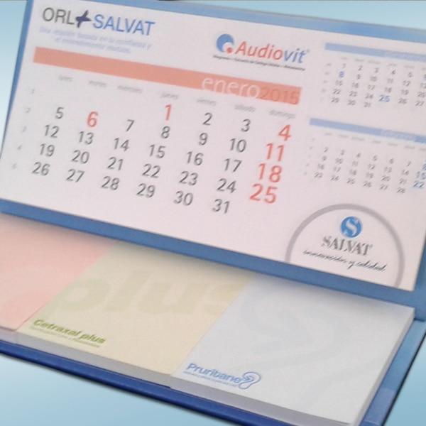 Calendario sobremesa post-it 2015 – Laboratorios Salvat