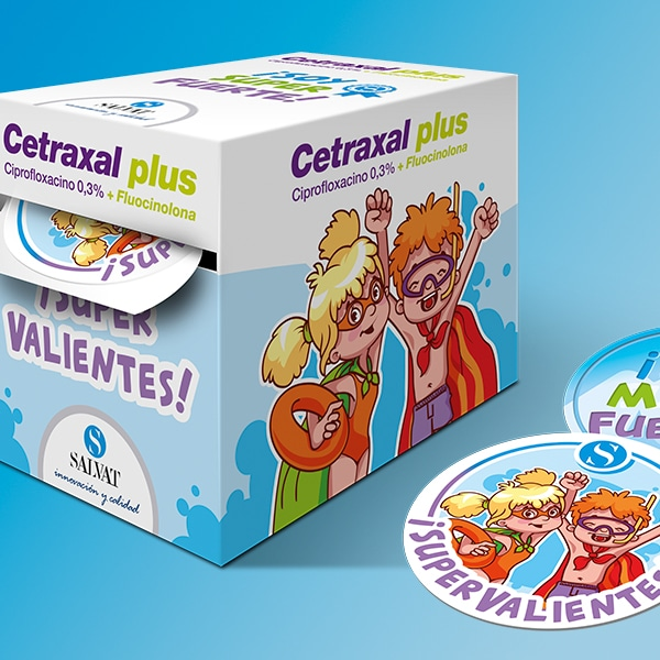 Packaging Cetraxal Plus Supervalientes – Laboratorios Salvat