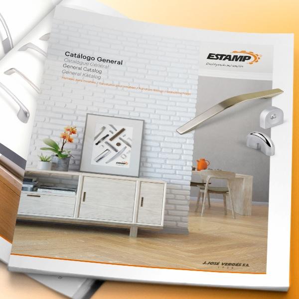 Catálogo General y Minicatálogo – Estamp