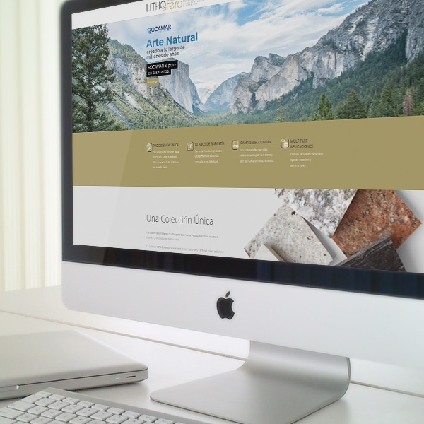 Página Web Lithosfera – Rocamar