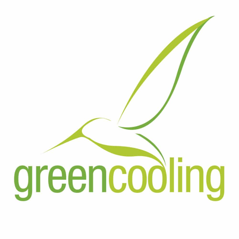 Restyling logo Green Cooling – Cubigel · Huayi