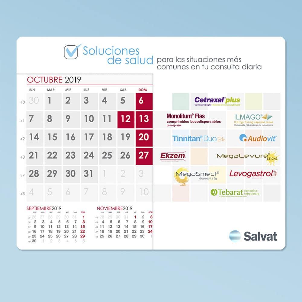 Calendarios alfombrilla 2020 – Laboratorios Salvat
