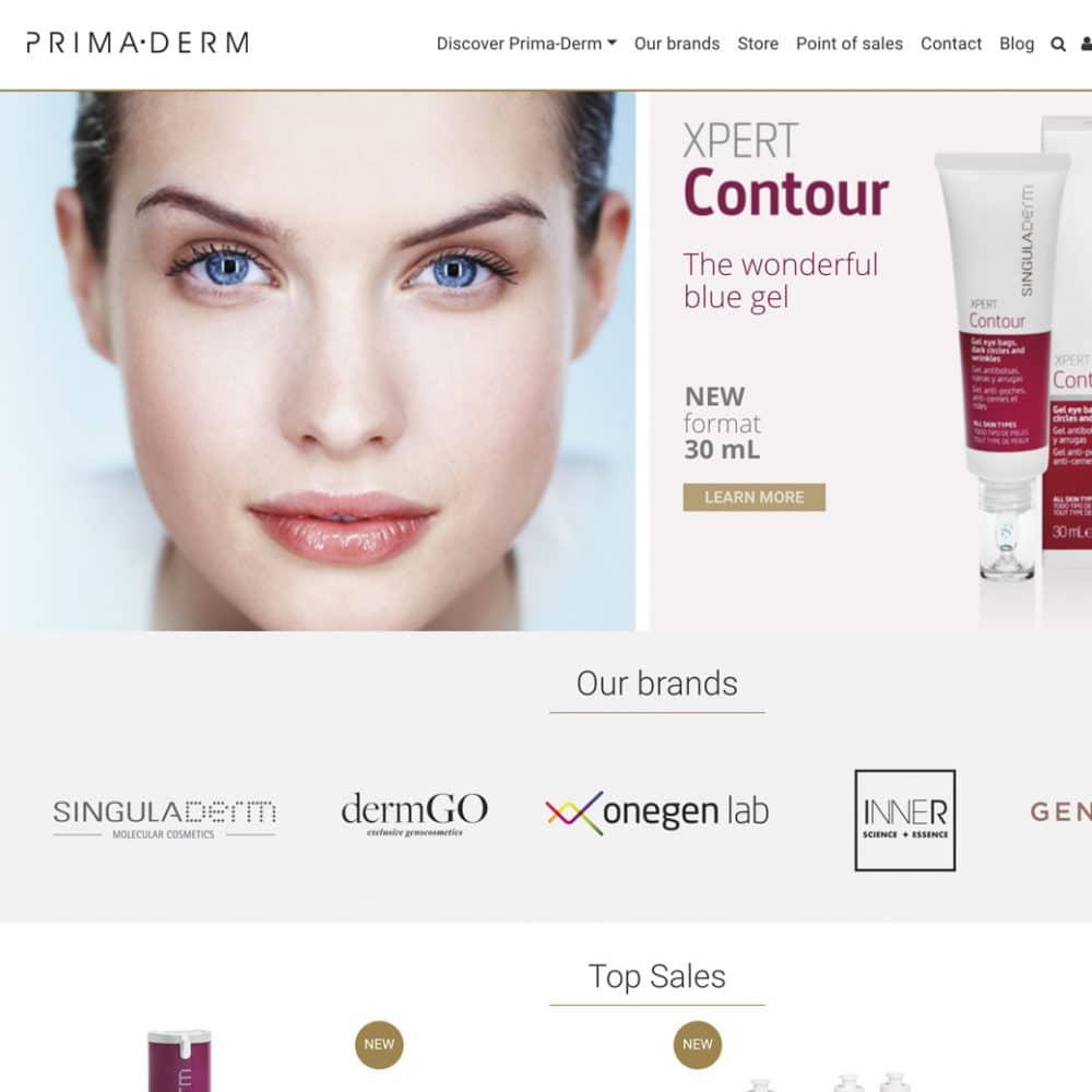 Web Prima-derm – Prima-derm