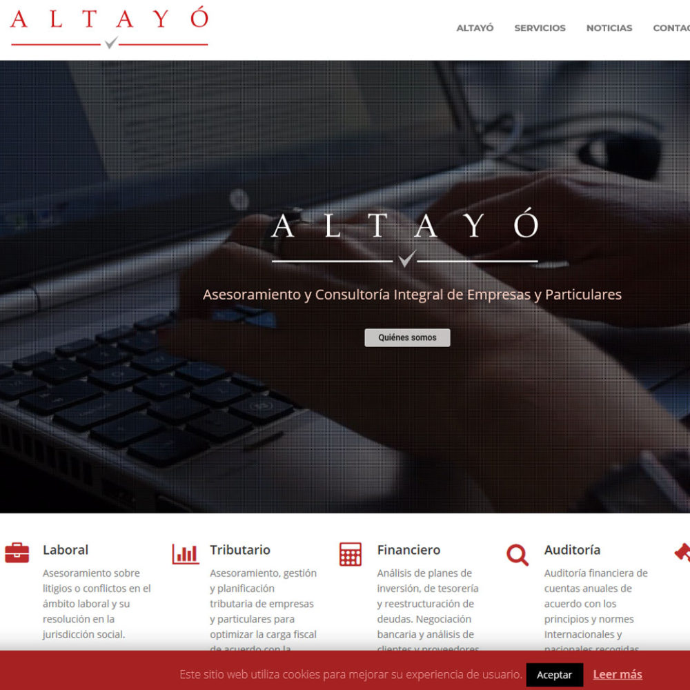 Web Altayó – Altayó