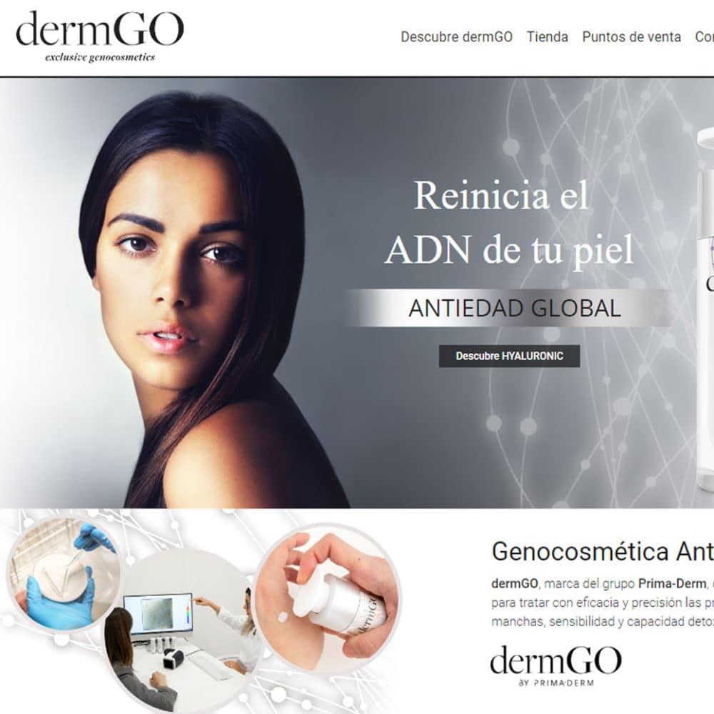 Web dermGO – Prima-derm