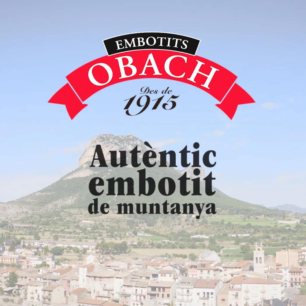 Vídeo corporativo Embotits Obach – Embotits Obach